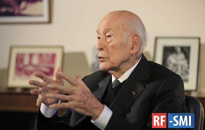 СМИ: умер экс-президент Франции Жискар д'Эстен