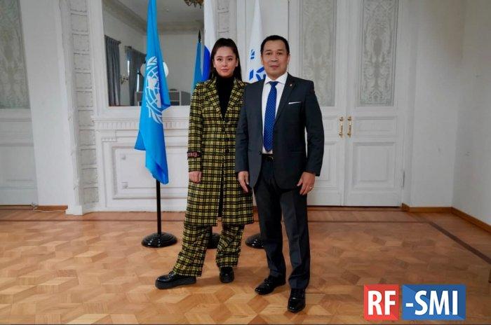 Манижа стала послом доброй воли ООН по делам беженцев