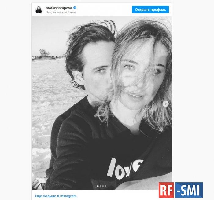 Мария Шарапова сообщила о помолвке c другом принца Гарри