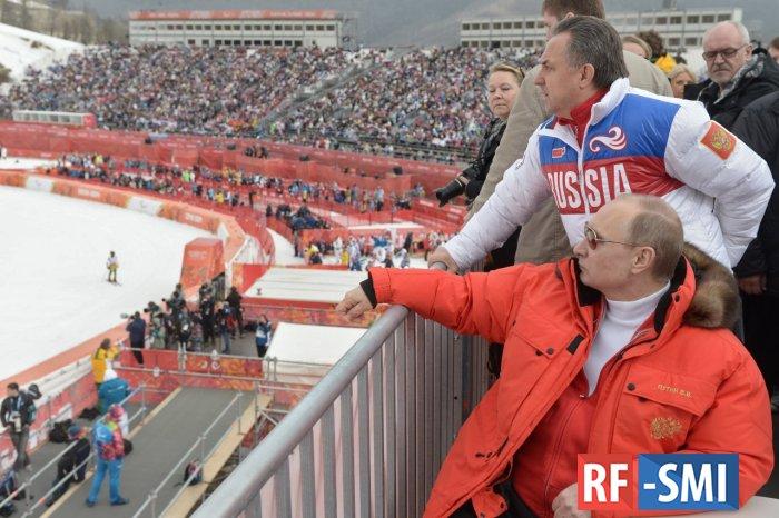 Спортивный арбитражный суд запретил В. Путину посещать Олимпиады?