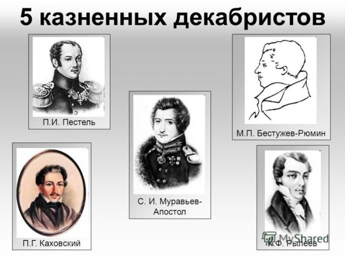 М. Сурайкин предложить присвоить звания Героев России... декабристам!