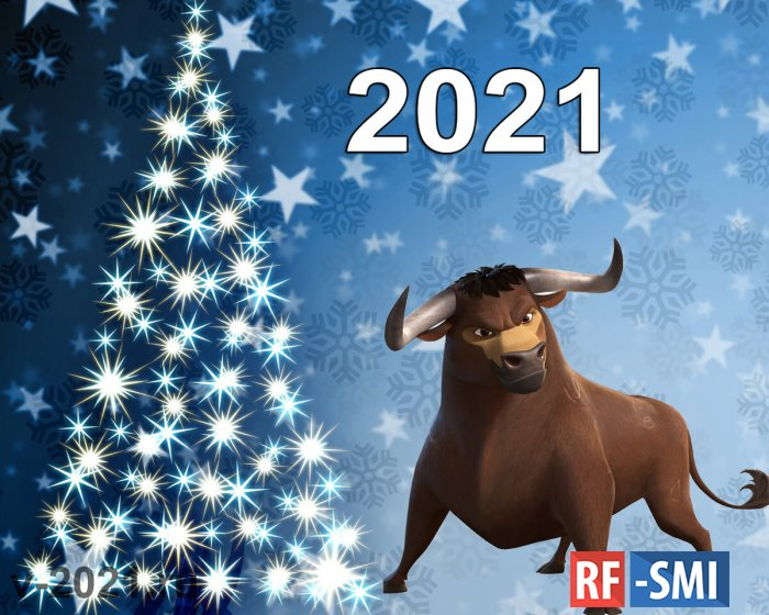 С Новым 2021 годом! Пусть он будет лучше предыдущего!