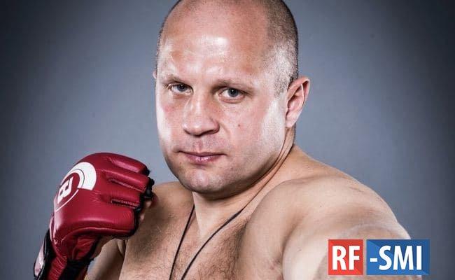 Боец Федор Емельяненко заболел коронавирусом