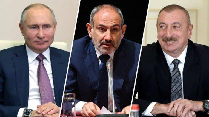 Путин проводит в Кремле трёхсторонние переговоры с Алиевым и Пашиняном
