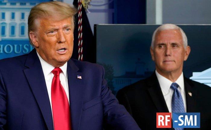 Палата представителей США приняла резолюцию об отстранении Трампа от власти