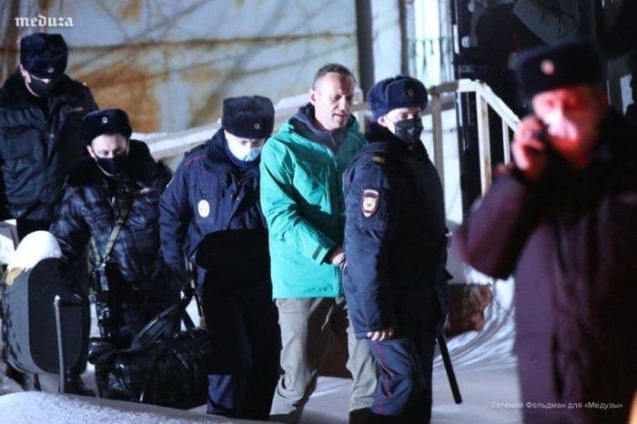 Судья начала оглашать свое решение по аресту А. Навального