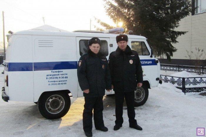 Полицейские нашли пропавшего дедушку: пенсионер лежал на снегу и замерзал