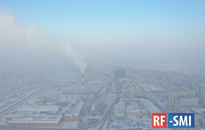 """В Красноярске ввели режим """"черного неба"""" до 22 января"""