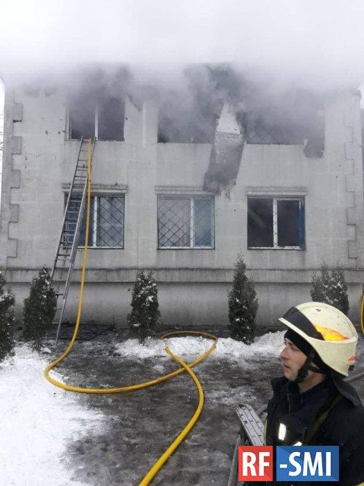 При пожаре в доме престарелых в Харькове 15 человек погибли