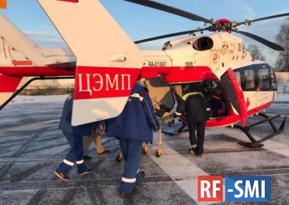 Вертолетная служба на страже здоровья москвичей