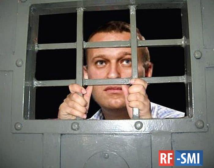 У Алексея Навального в камере СИЗО поехала крыша. Он теперь космонавт