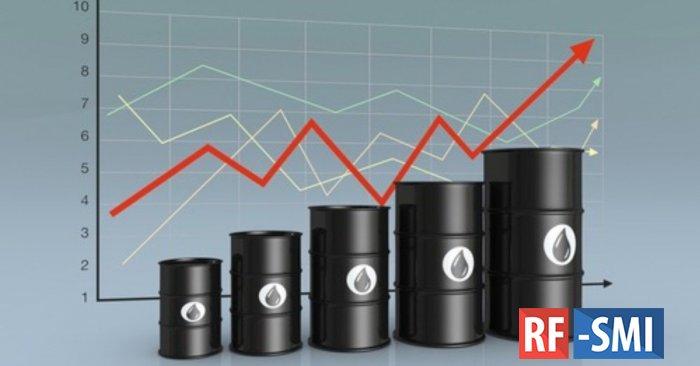Стоимость нефти растет на заявлении Минэнерго США