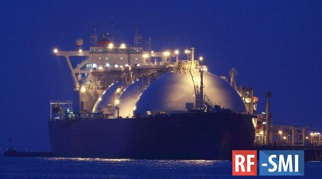 Россия обогнала США по объемам поставок СПГ в Европу