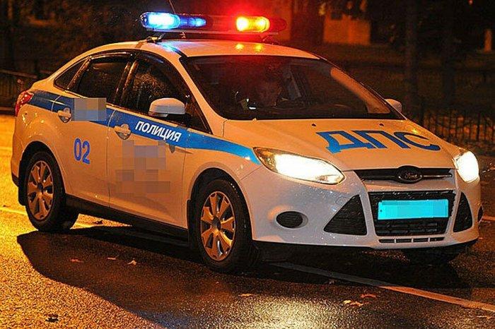 Полицейский автомобиль сбил насмерть пешехода на Кутузовском проспекте
