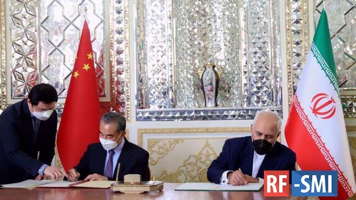 Китай и Иран подписали  соглашение о сотрудничестве сроком на 25 лет