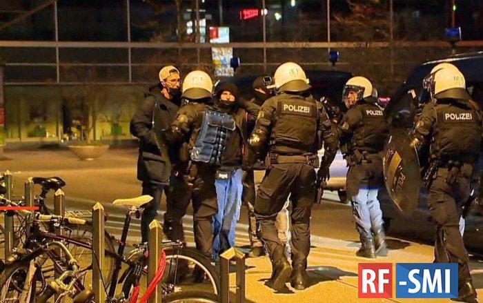 В швейцарском Санкт-Галлене применили резиновые пули против протестующих