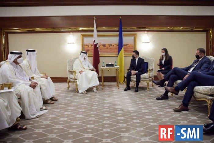 Позор Зеленского в Катаре: хуторская дипломатия лишила Киев ещё одного союзника