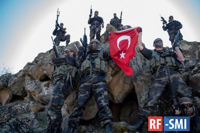 150 турецких военных прибыли в зону ООС на Донбассе