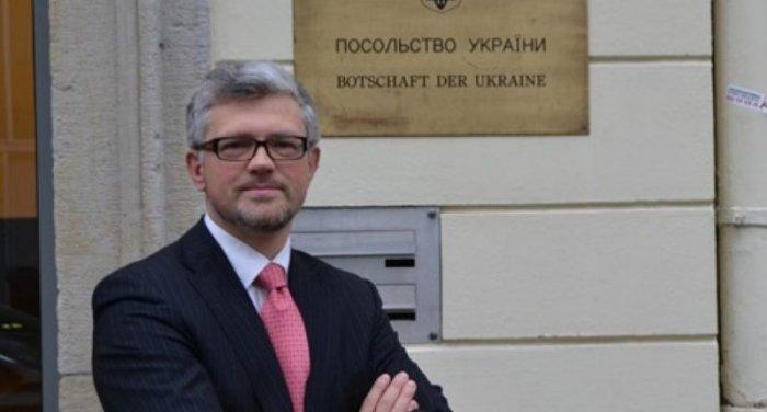 Посол Украины в ФРГ Андрей Мельник впал в истерику: