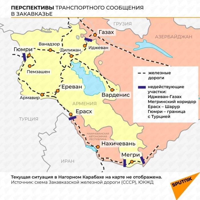 Азербайджан начал строительство автодороги в Нахичевань