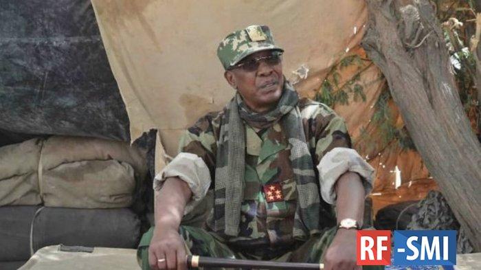 Президент Чада умер от полученных на передовой ранений