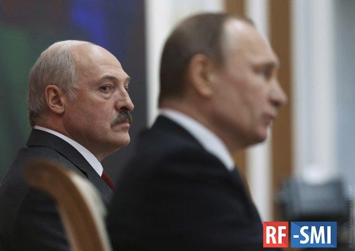 Сегодня пройдет встреча Владимира Путина и Александра Лукашенко