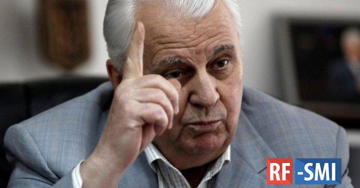 Уберите маразматика Кравчука из внешней политики Украины.  Уже не смешно