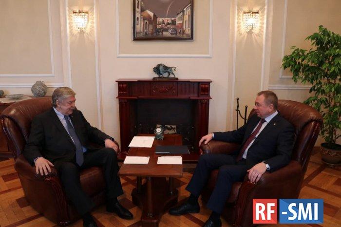 Новый посол России в Беларуси Евгений Лукьянов уже в Минске