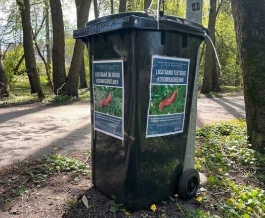 Власти Эстонии установили контейнеры для сбора слизней