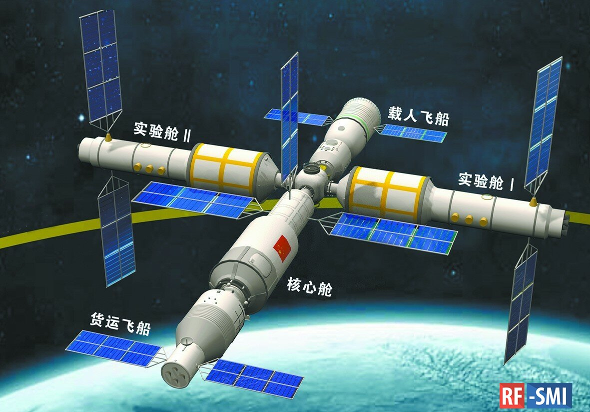 Китай отклонил заявку США на участие в работе станции «Тяньгун»