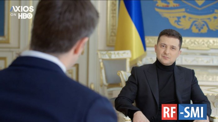 """Зеленский считает """"Северный поток-2"""" оружием РФ, пули к которому может подавать США"""