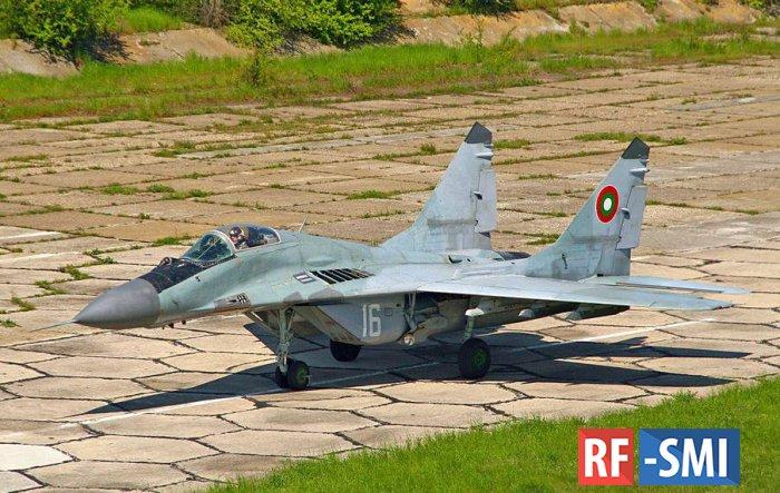 Болгарский истребитель МиГ-29 упал в Черное море