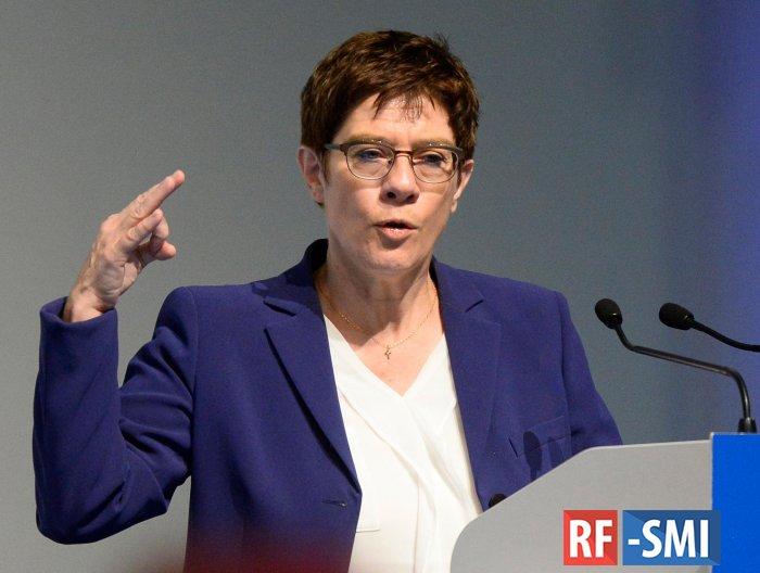Минобороны ФРГ призвало ЕС сделать выводы из зависимости от США