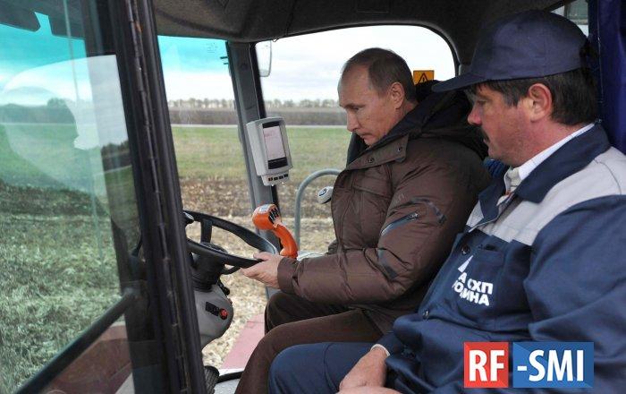 """Путин про зарплату тракториста: """"маловато"""""""