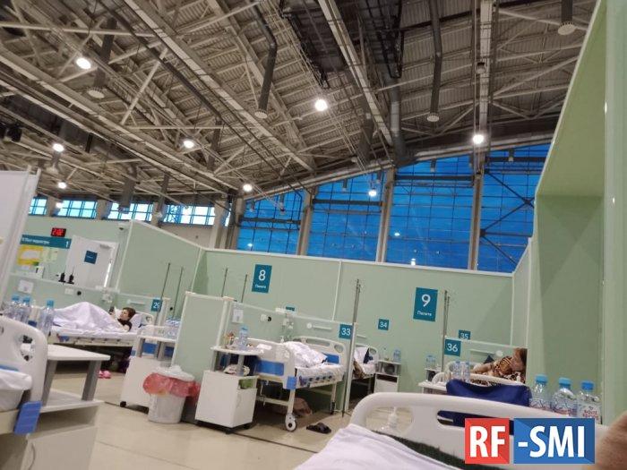 Количество случаев COVID-19 в Москве выросло на 70 процентов по сравнению с прошлой неделей