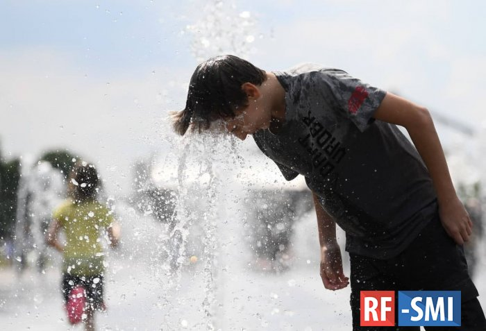 В Москве из-за жары объявлен «оранжевый» уровень погодной опасности