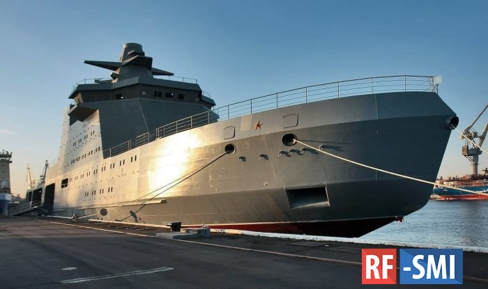 В конце 2022 года начнутся испытания корабля ледового класса «Иван Папанин»