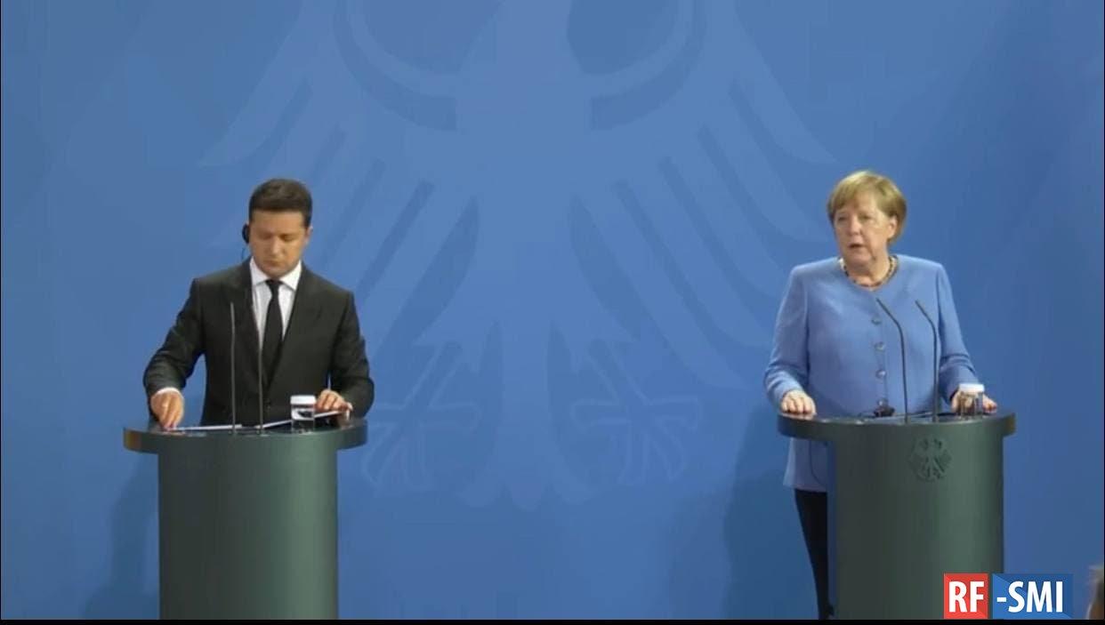 Итак, главные выводы из сегодняшней встречи Зеленского и Меркель