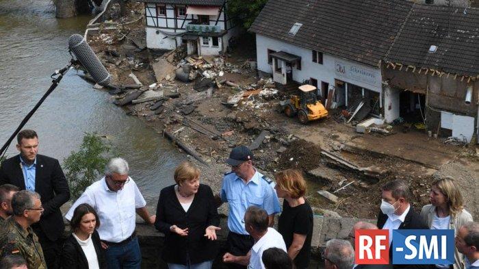 Немецкий язык не знает слов для описания разрушений - Меркель