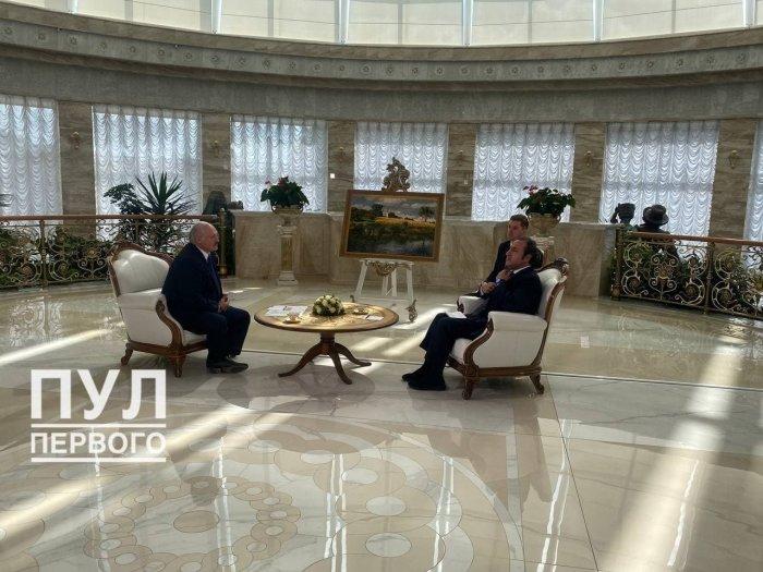 Александр Лукашенко дал интервью телеканалу Sky News Arabia