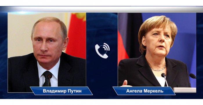 Кремль - о разговоре Владимира Путина и Ангелы Меркель: