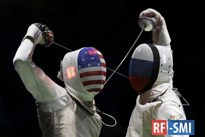 Американские саблисты отказались выходить на матч с Россией на ОИ-2020