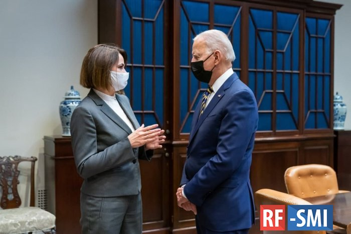Тихановская встретилась с президентом США Джо Байденом