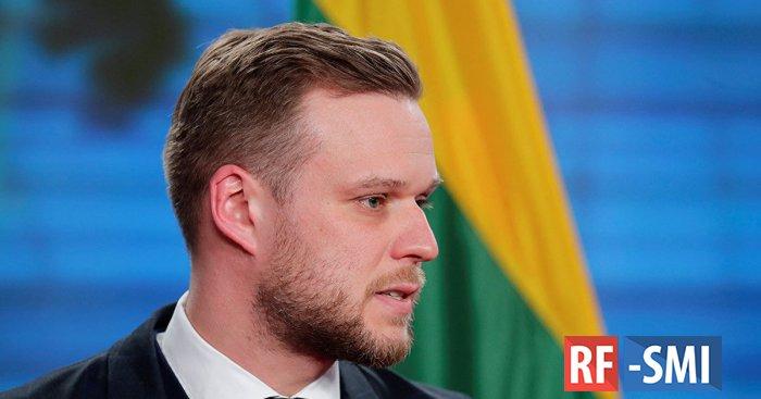 Полиция рекомендовала главе МИД Литвы не выходить из парламента