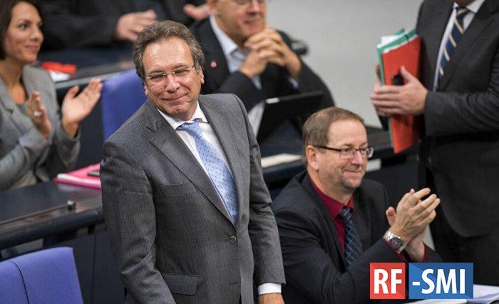 Глава комитета экономики и энергетики Бундестага К. Эрнст о российском газе