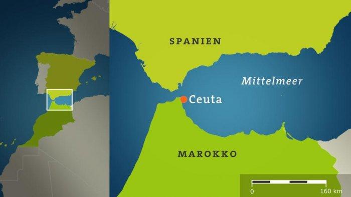 Испания не разрешила российским военным кораблям войти в порт Сеута