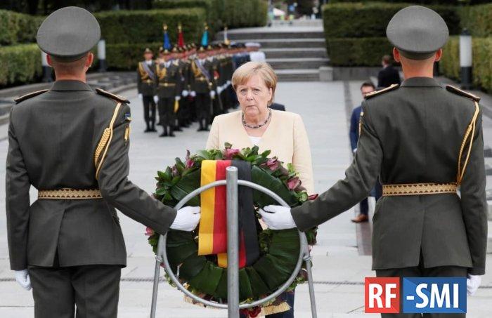 Ангела Меркель прибыла с официальным визитом в Киев