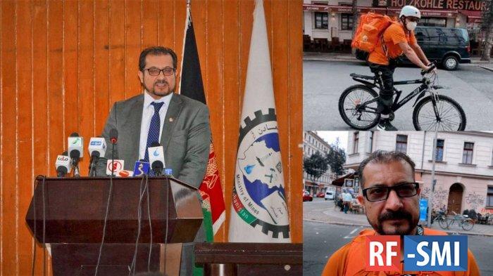 Афганский экс-министр устроился доставщиком пиццы в Германии