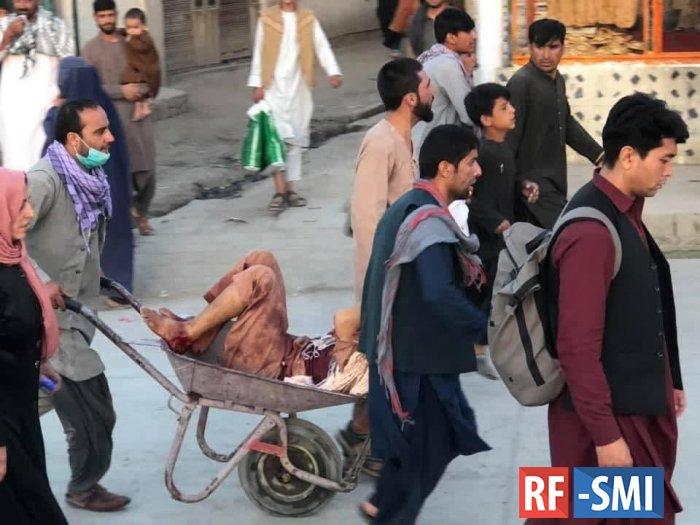 Террорист смертник взорвал себя у входа в кабульский аэропорт