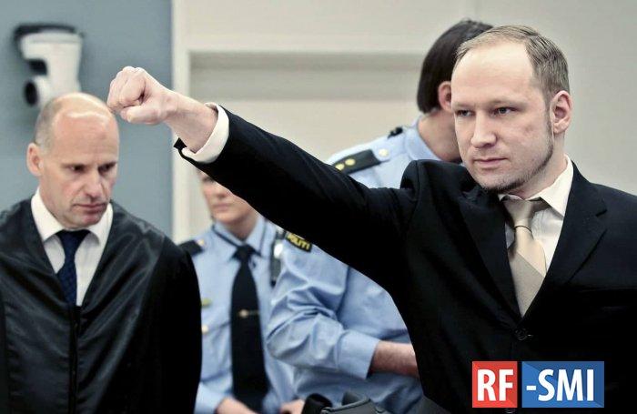 Норвежский суд рассмотрит прошение Брейвика об УДО